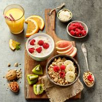 Бесплатные фото сок,завтрак,ягоды,фрукты