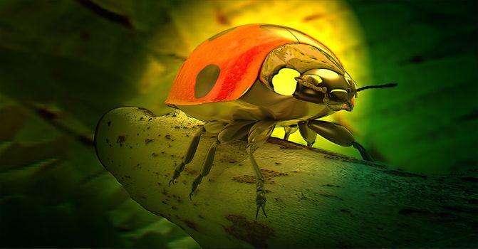 Фото бесплатно 3d, природа, рендеринг