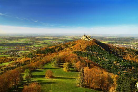 Фото бесплатно Burg Hohenzollern, Замок Гогенцоллерн, Баден-Вюртемберг