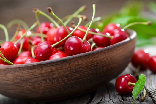 Фото бесплатно фрукты, миска, черешня