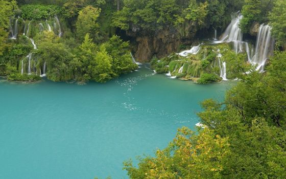 Photo free cascades, Lago, waterfalls