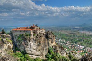 Бесплатные фото Meteora Monasteries,Greece,Монастыри Метеоры,Греция