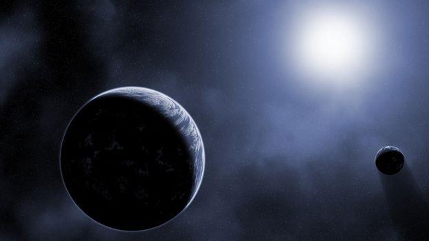 Фото бесплатно Обои, космос, галактика