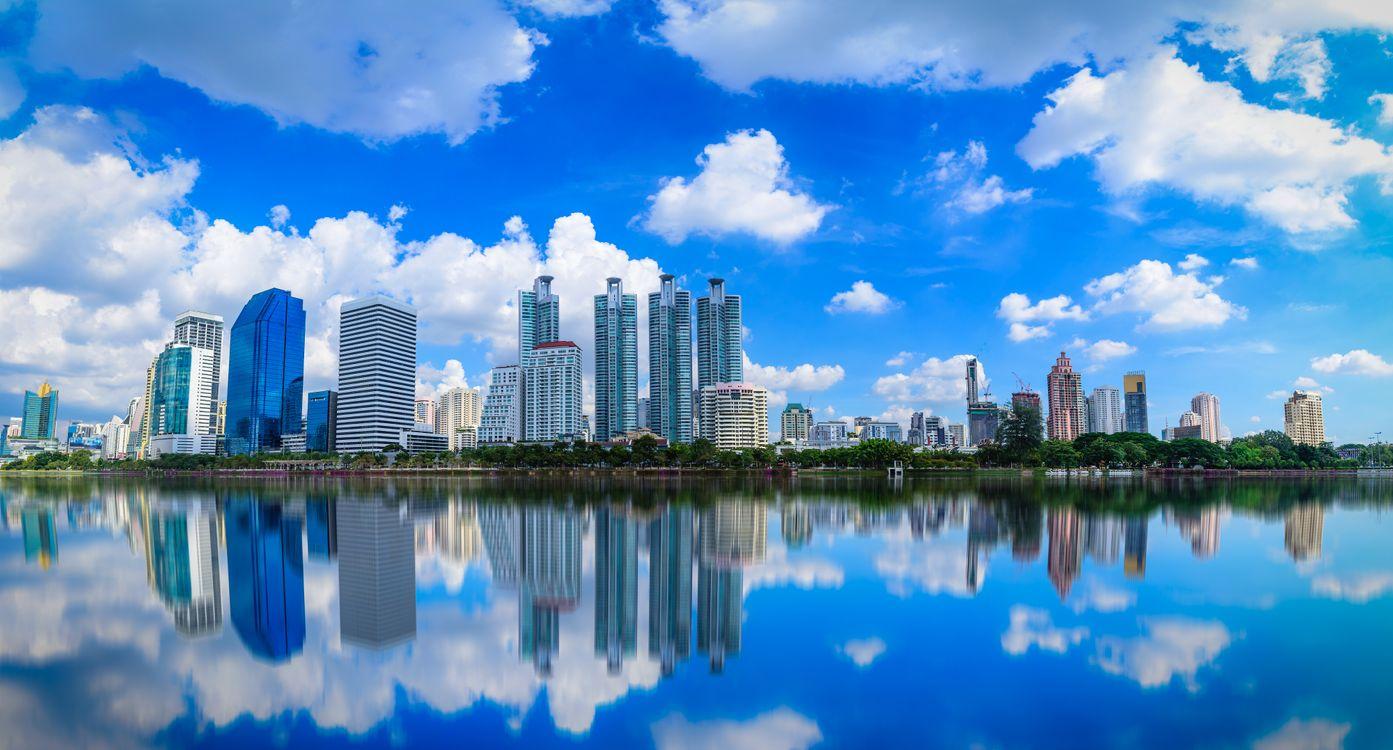 Фото бесплатно Городской образ, Benchakitti, Бангкок, Таиланд, город