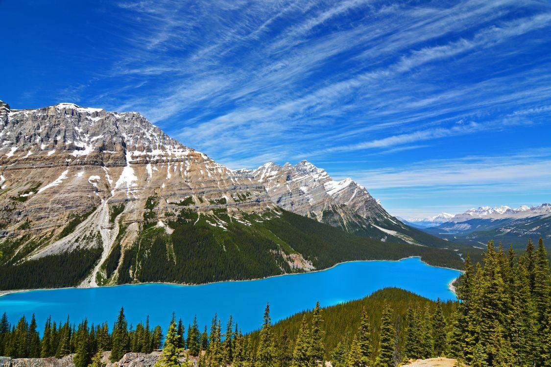 Фото бесплатно Banff National Park, небо, Canada - на рабочий стол
