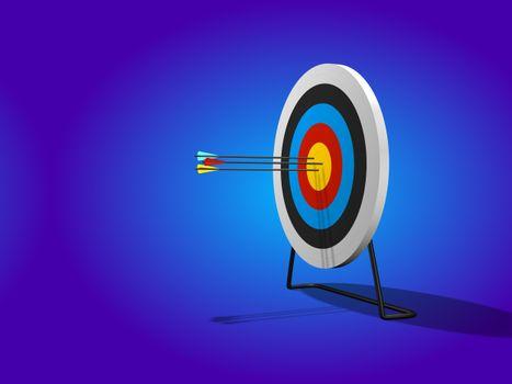 Фото бесплатно стрелка, целевой показатель, диапазон