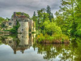 Фото бесплатно Кент, замок Скотни, Англия