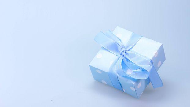 Photo free blue, ribbon, gift