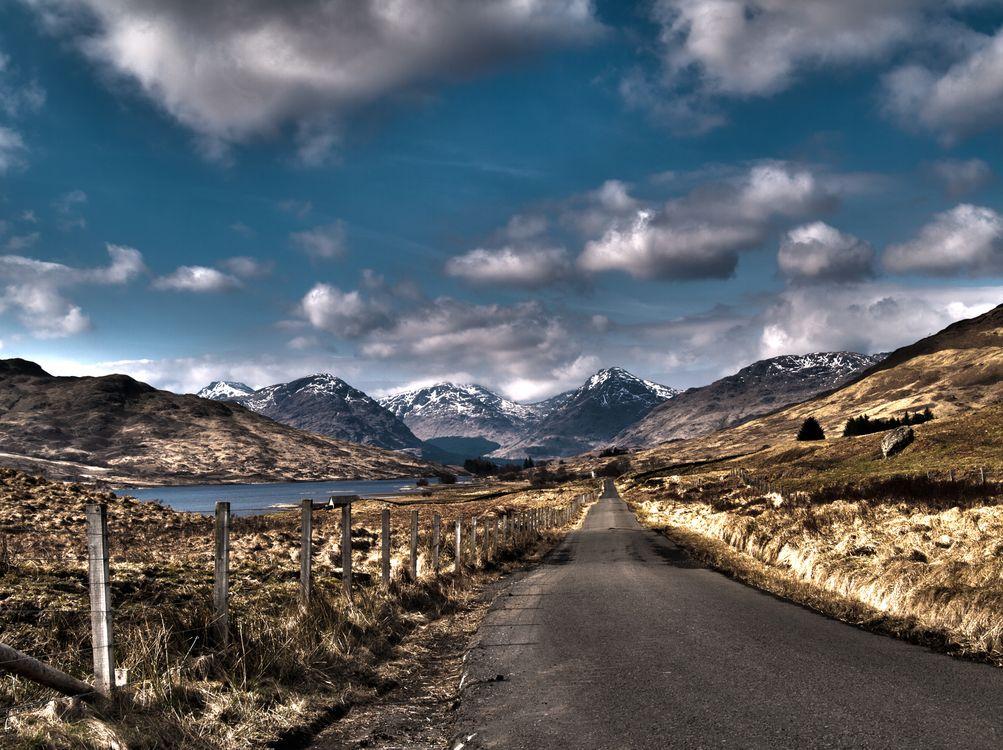 Фото бесплатно Road to Inversnaid, Stronachlachar, Scotland - на рабочий стол