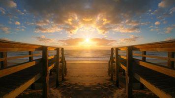 Бесплатные фото закат солнца,вода,рассвет,мост,пирс,море,размышления