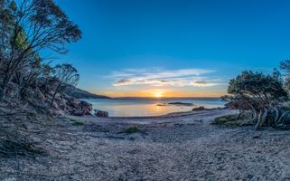 Бесплатные фото Freycinet National Park,Coles Bay,Tasmania,Тасмания,Австралия,закат,море пляж