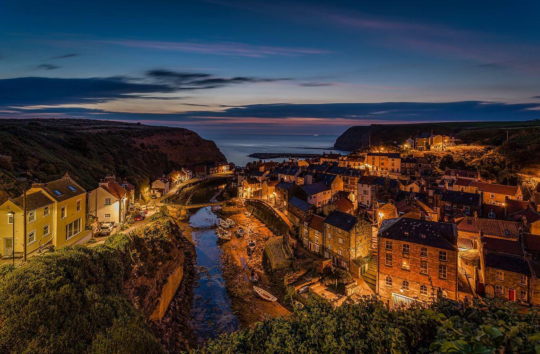 Фото бесплатно North Sea, North Yorkshire, деревня - на рабочий стол