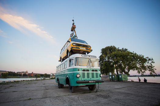 Фото бесплатно автобус, микроавтобус, RAF