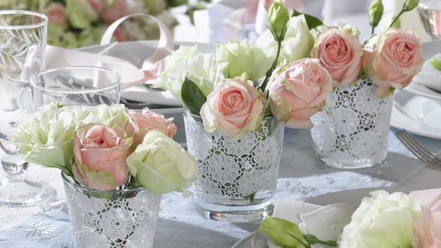 Фото бесплатно вазы, декор, розы