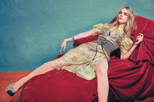 Photo free girls, models, Cara Delevingne