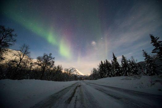 Бесплатные фото звезда,ночь,ночное небо,рождество,подарок,синий,облако,на улице,пейзаж,тромбо,норвегия,природа
