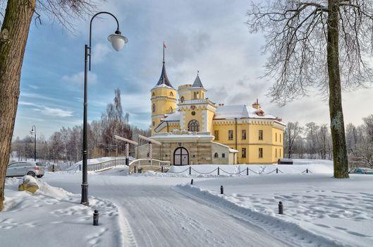 Замок Бип в Павловске · бесплатное фото