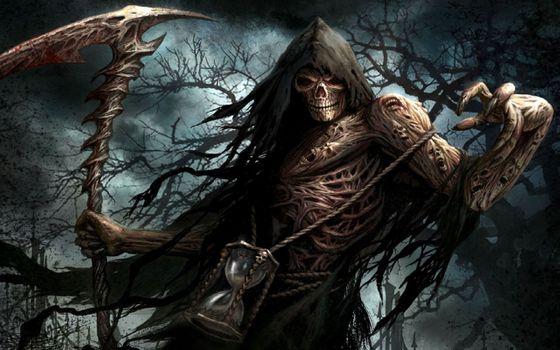 Фото бесплатно смерть, зло, мрачная
