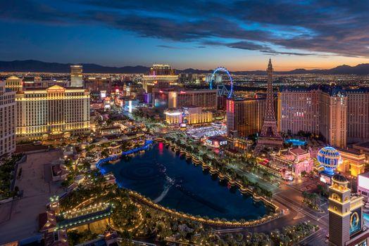 Как выглядит Лас-Вегас