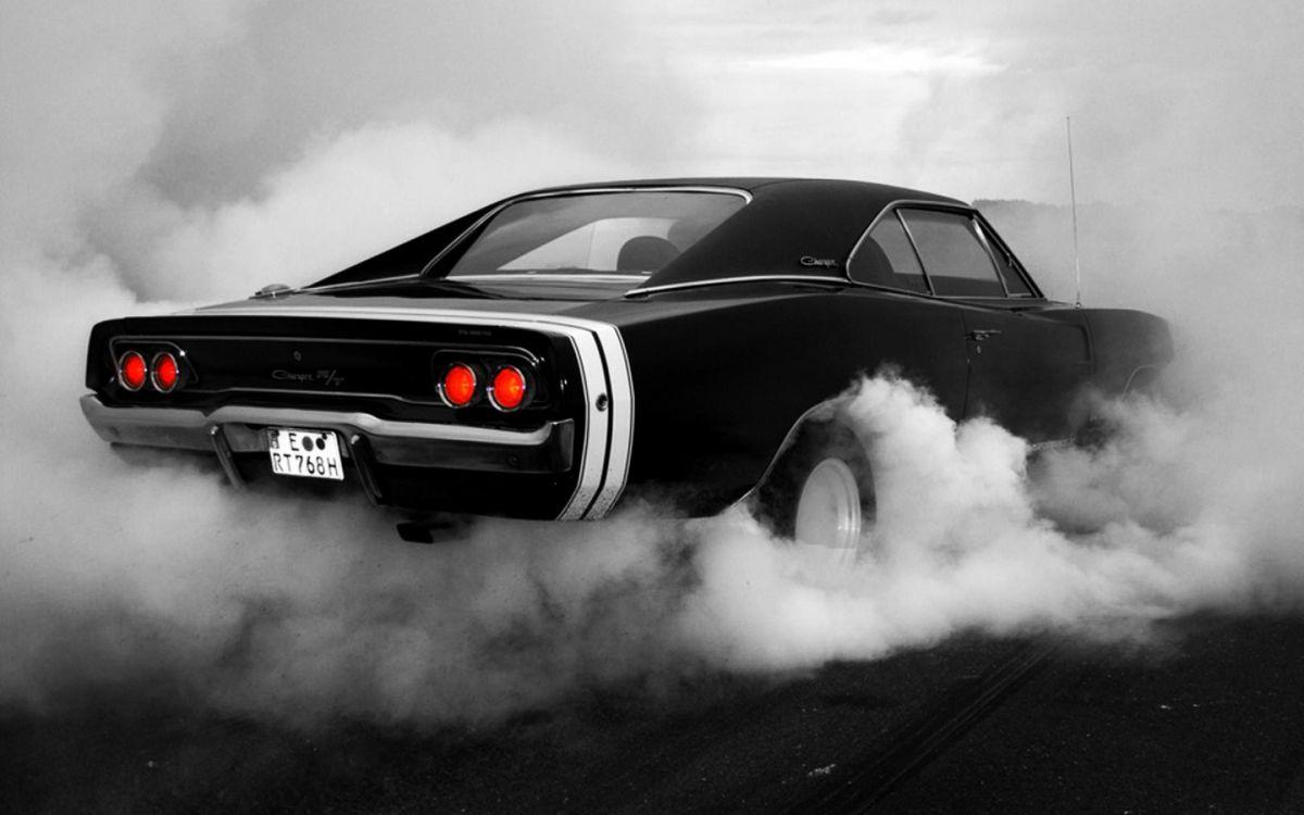 Фото бесплатно Dodge 1969, пробуксовка, автомобиль, автомобили, мощность, мощный, мускул кар - на рабочий стол