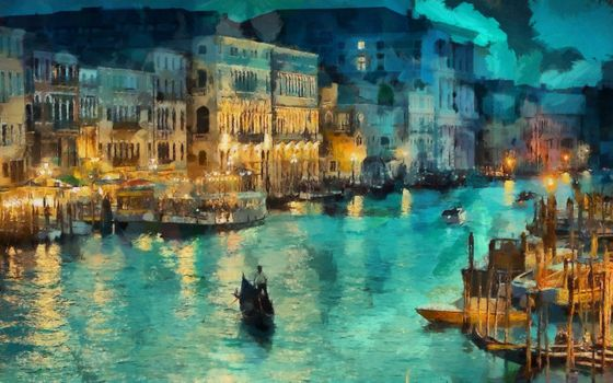 Фото бесплатно искусство, канал, Италия