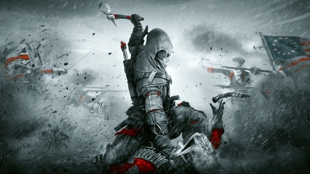 Assassins creed and kirk · free photo