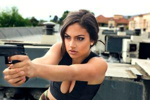 Photo free Inanna Sarkis, Girls, Model