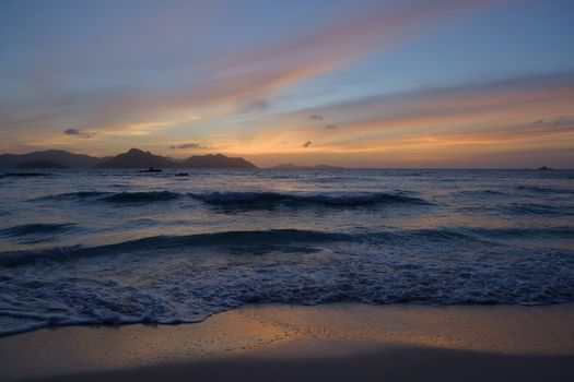 Заставки волны, море, сейшельские острова