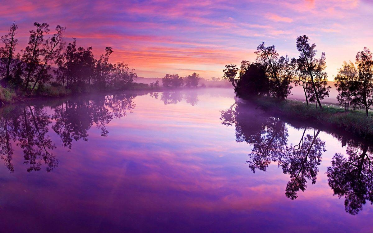 Фото солнечный свет пейзаж розовый - бесплатные картинки на Fonwall