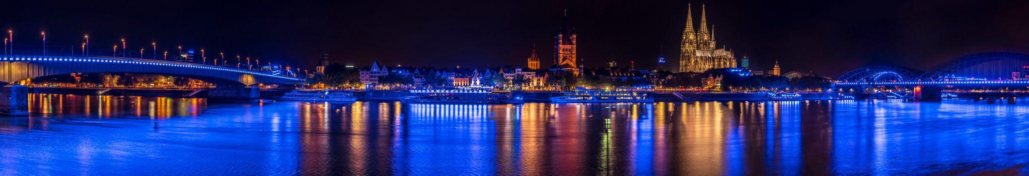 Photo free night, panoramic, Germany