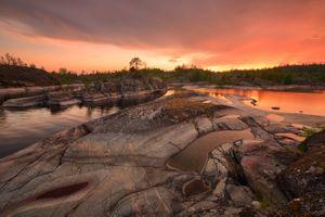 Магаданские закаты · бесплатное фото