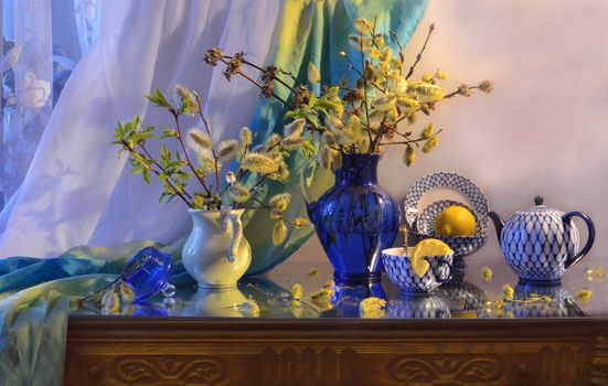 Заставки still life, натюрморт, верба
