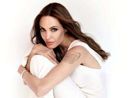 Фото бесплатно Анджелина Джоли, знаменитости, девушки