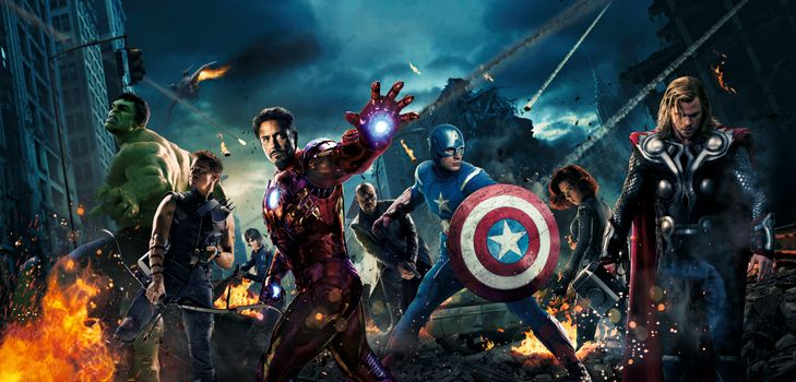 Photo free film, AVENGERS 2012, adventure