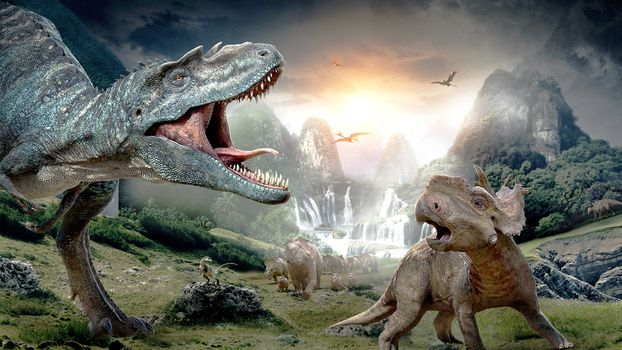 Photo free Walkin With Dinosaurs, Walking with dinosaurs, fiction