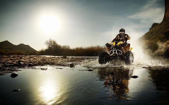 Photo free atv, water, a vehicle