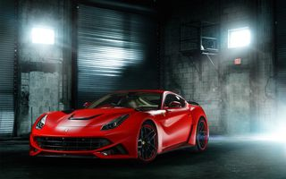 Заставки Custom, Ferrari, Cars