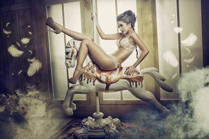 Photo free beauty, posture, pose