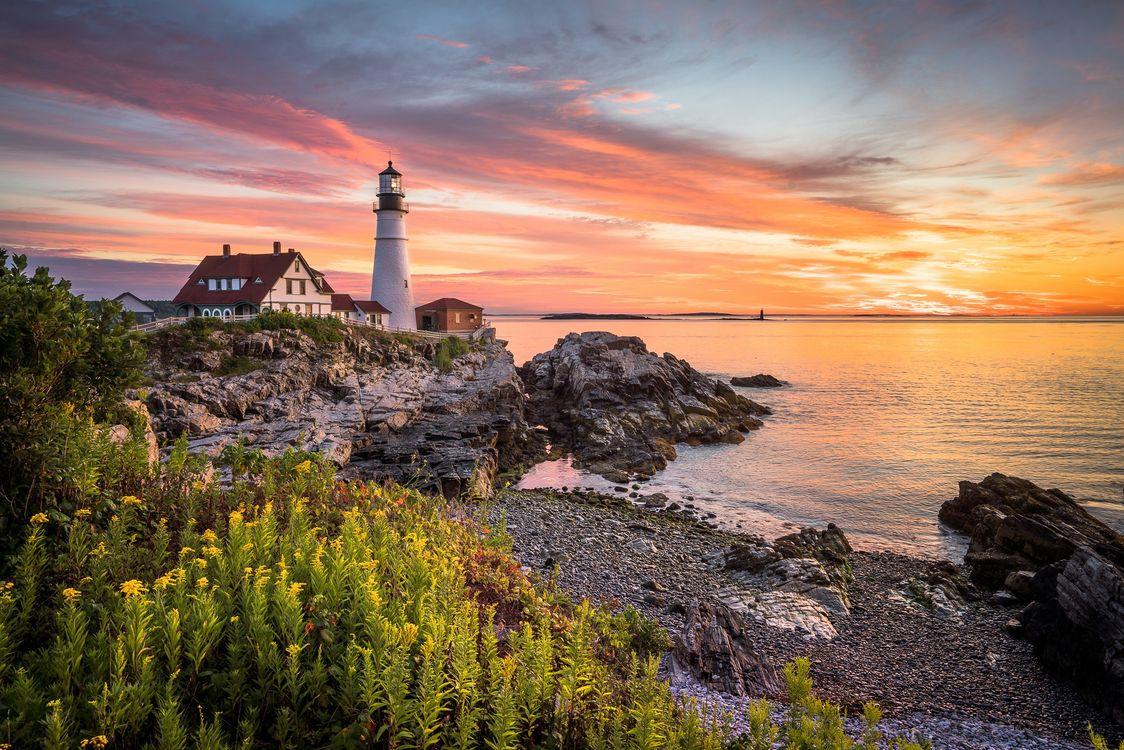 Free photo landscape, rocks, Atlantic Ocean - to desktop