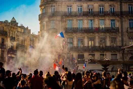 Бесплатные фото город,здание,улица,спорт,fifa,2018,франция,французский,французский флаг,etoile,революция,delacroix