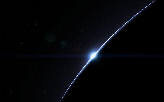 Photo free dark, planet, simple