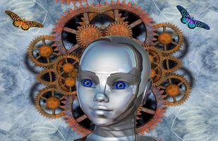 Бесплатные фото андроид,абстракция,фон,art,3d