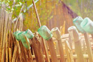 Фото бесплатно филиал, абстрактные, забор