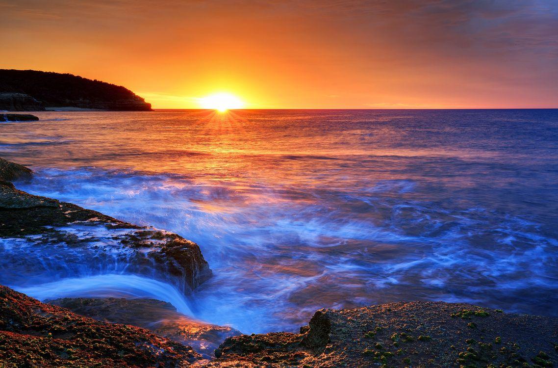 Фото бесплатно Новый Южный Уэльс, Австралия, закат - на рабочий стол