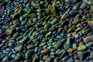 Фото бесплатно Волшебные камни, Исландия, берег моря
