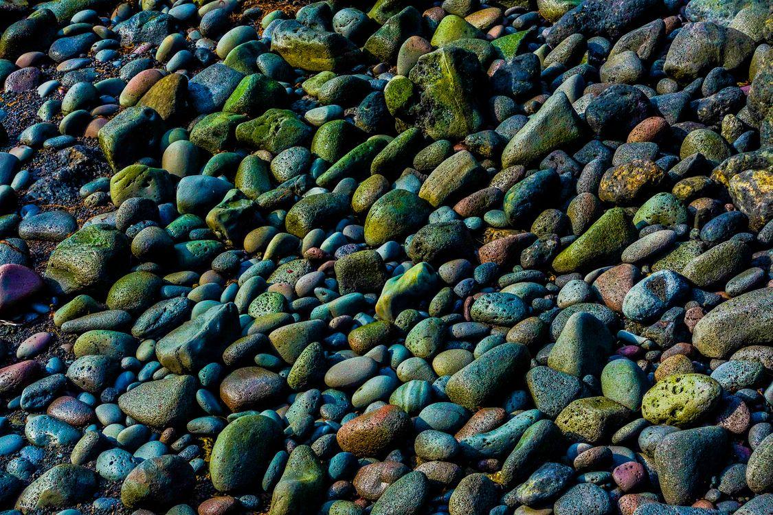 Фото бесплатно Волшебные камни, Исландия, берег моря - на рабочий стол
