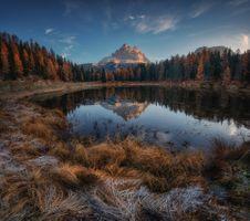 Dolomites - осень · бесплатное фото