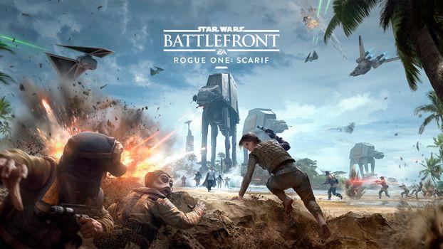 Фото бесплатно Star Wars Battlefront, ЕА игры, компьютерные игры