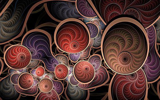 Фото бесплатно абстракция, фон, фрактал