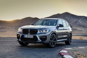 Фото бесплатно BMW X3, трасса, дорога